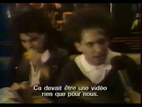Rock Report 1987 THE CURE -interview- (french TV)