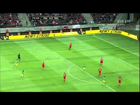 Polska 1 - 0 RPA  Cały Mecz - 2 Połowa  2/2   12/10/12  HD