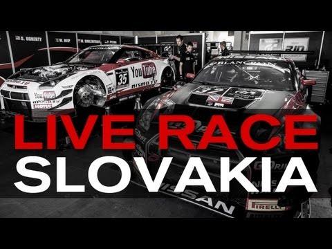 FIA GT Slovakia 2013 - LIVE RACING