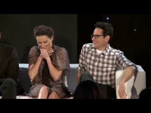 Star Wars: The Force Awakens: Press Conference - JJ Abrams, Daisy Ridley, Adam Driver
