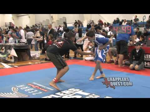 29 Second SUBMISSION: Cliff Smith vs Jean-Paul LeBosnoyani at Grapplers Quest Florida 2012