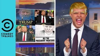 Trevor Noah Is Slowly Turning Into Donald Trump | The Daily Show With Trevor Noah