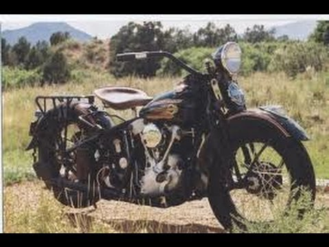 Jim Tom wrecks his 1937 Harley Davidson (Moonshine)