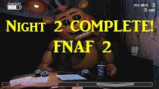 Night 2 COMPLETE No Facecam (Balloon Man Evasion)-Five Nights At Freddy's 2 : The Sequel Walkthrough