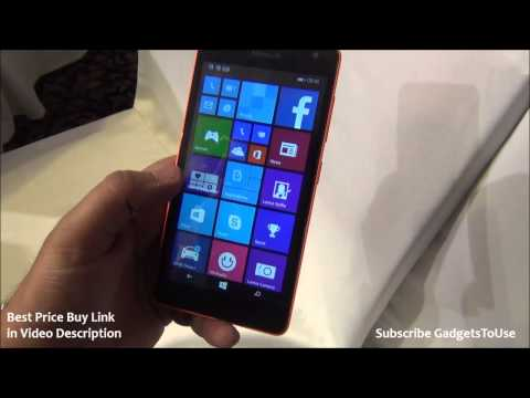 Microsoft Lumia 535 India Hands on Review, Camera, Price, Features, Display and Overview