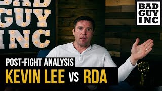 Kevin Lee vs Rafael dos Anjos: Here's what happened...