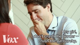 Justin Trudeau on feminism, fatherhood, and Ryan Gosling memes