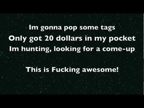 Thrift Shop Macklemore Lyrics (dirty) video