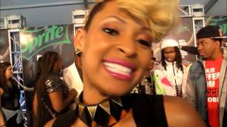 Asia Sparks, Tiffany Foxx, Mali Hunter at BET Hip Hop Awards 2013
