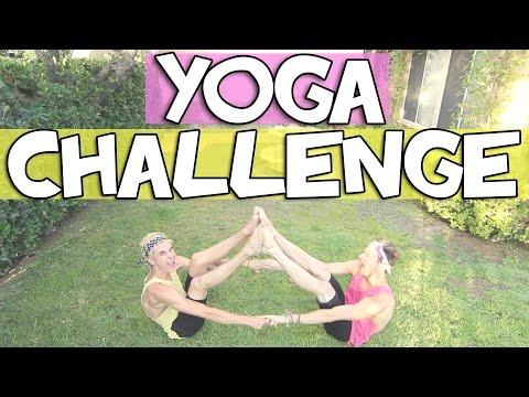YOGA CHALLENGE W/ KIAN LAWLEY | RICKY DILLON