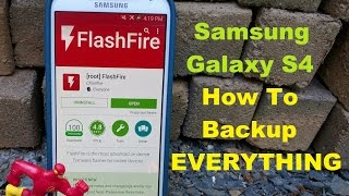 Samsung Galaxy S4 How To Backup EVERYTHING