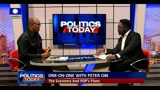 We Will Tackle Power Supply In The First Six Months - Peter Obi |Politics Today|