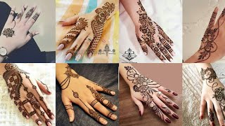 2019 simple and easy arabic mehndi design