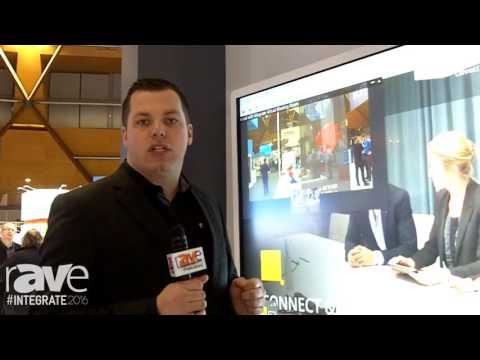 Integrate 2016: Ricoh Shows Interactive Flat Panel Display With a Windows-based OPS