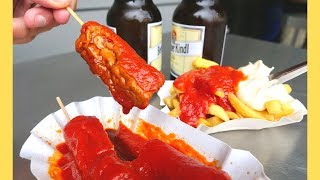 GERMAN STREET FOOD tour | Best CURRYWURST, DONER KEBAB + Burgers in Berlin | Berlin food