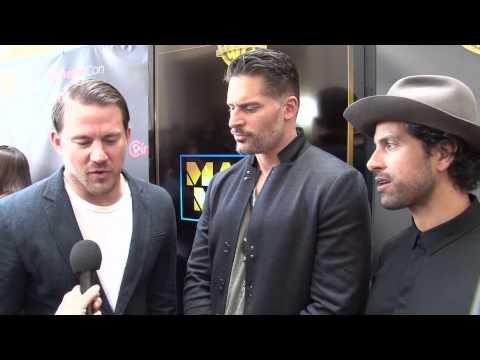Magic Mike XXL: Channing Tatum, Joe Manganiello & Adam Rodriguez Exclusive Cinema Con Interview