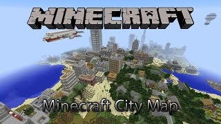 Minecraft Amazing City Map That Has Everything! (Download!)