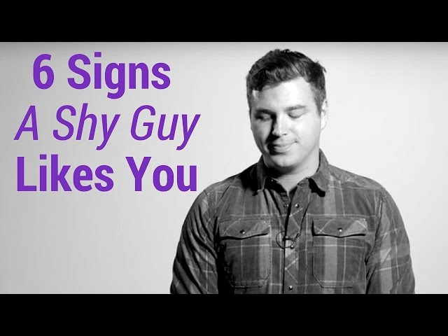 6 Signs a Shy Guy Likes You thumbnail
