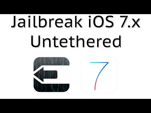 How to Jailbreak iOS 7.0.6/7.0.5/7.0.4/7.0.3/7.0.2/7.0.1/7.0/ Using Evasi0n (Untethered)