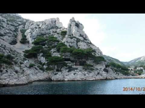 Les Calanques de Cassis à Marseilles en bateau