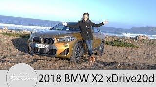 2018 BMW X2 xDrive20d (F39) Fahrbericht / Kompaktes SUV-Coupé mit Fahrdynamik - Autophorie
