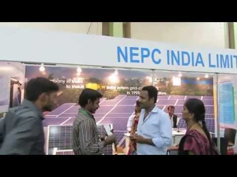 RENERGY2013 - India's largest renewable energy conference and exhibition-Walk through 2