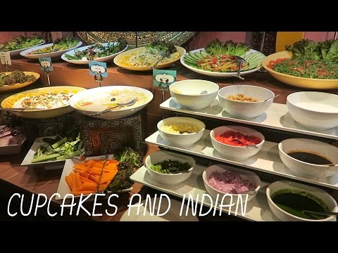 CUPCAKES AND INDIAN | DAY 4 BAHRAIN VLOG