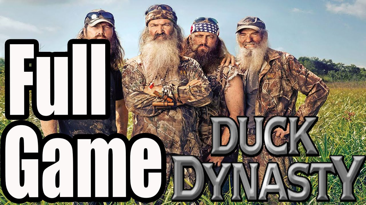 Duck dynasty full game walkthrough no commentary youtube