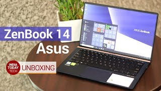 Asus Zenbook 14 Unboxing and First look | India Today Tech