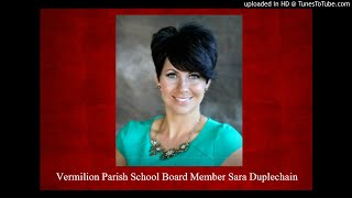 Vermilion Parish School Board Sara Duplechein