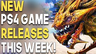 NEW BIG PS4 Game Releases THIS WEEK! Single Player STAR WARS Game Coming?!