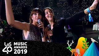 Aitana conoce a su mayor fan | LOS40 Music Awards 2019