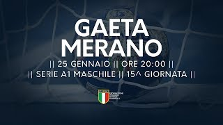 Serie A1M [15^]: Gaeta - Merano 31-28