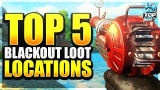 Blackout: BEST LOOT Locations - Where To Land For LOOT (BO4)