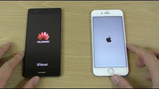 Huawei P9 vs iPhone 6S - Speed & Camera Test!