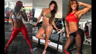 Sonia Isaza I Fitness Model I Abs Workout