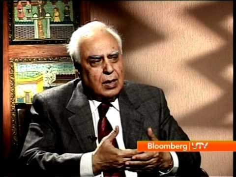 BloombergUTV Exclusive - Kapil Sibal Interview