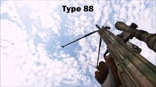 Battlefield 2 - All Weapons