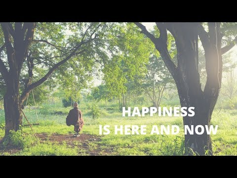 Happiness is here and now - [English and Japanese] Plumvillage song