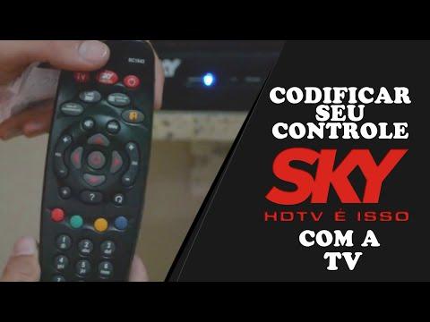 Como Codificar Seu Controle Da Sky Com Sua Tv ( CONTROLE DIGITAL)