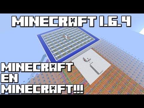 Minecraft 1 6 4 super mapa minecraft en minecraft