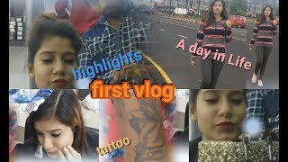 MY FIRST VLOG | A (VACATION) DAY IN MY LIFE | HIGHLIGHTS + TATTOO & MORE (PART 1) | MAKEUPLOVERSEJAL