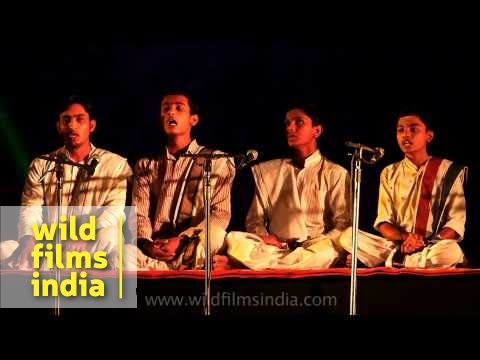 Hindu Rigved chant for universal well being, from India