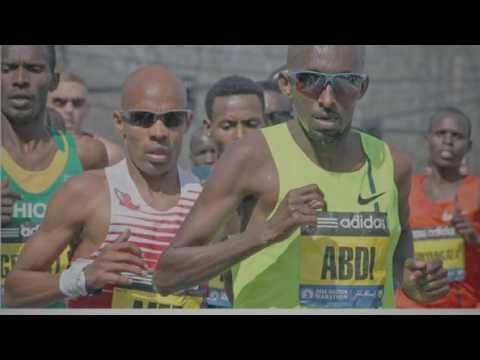 B.A.A 10k Boston Marathon Anderson Centeno. Slide show # 1