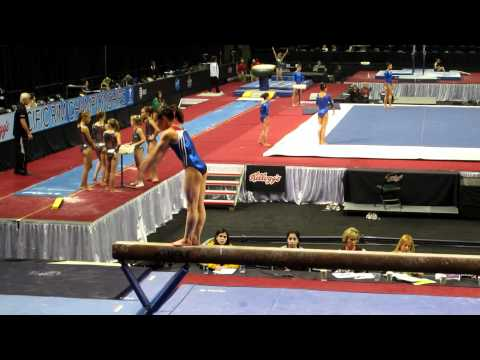 Katelyn Ohashi - 2012 Kellogg&#039;s Pacific Rim Championships Podium Training - Balance Beam