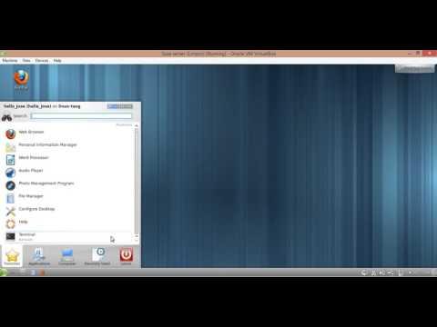 Configuracion de la tarjeta de red en Opensuse