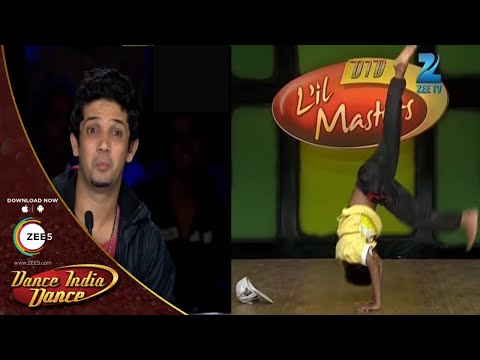 Did L'il Masters - Mumbai Auditions - Vishal Jadhav Surprises Everyone With His Moves video