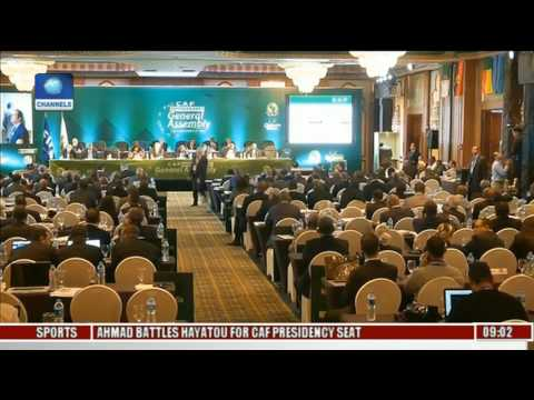 CAF Presidency: Delegates Arrive In Addis Ababa
