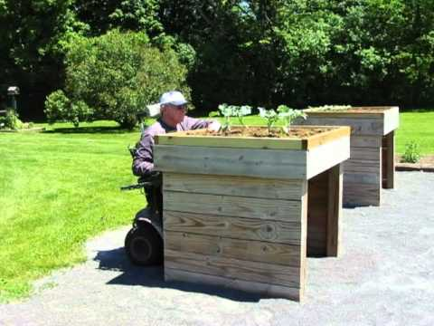 Wheelchair Accessible Raised Garden Bed Plans