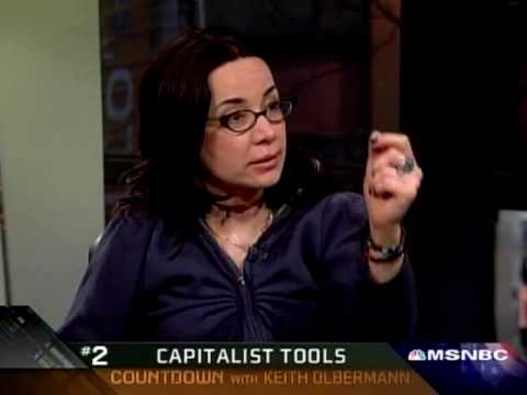 Janeane Garofalo declares Tea Party attendees racist and Keith Olbermann agrees.